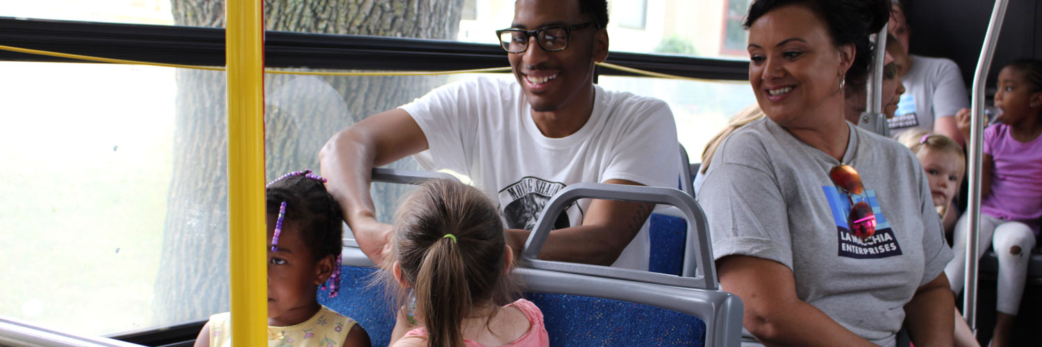 Take Your Kid on the Bus Day