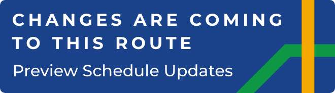 This route is part of the MCTS NEXT system upgrade. Preview Schedule Updates.