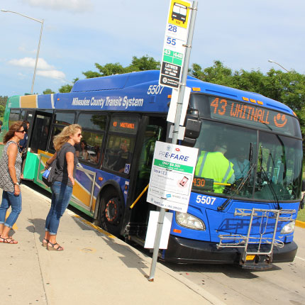 Ride Mcts Milwaukee County Transit System