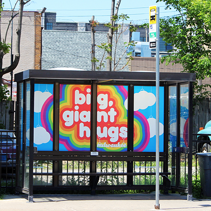 Bus Shelter Art Project
